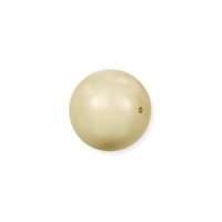 Swarovski 5810 6mm Light Gold Round Crystal Pearl (10-Pcs)