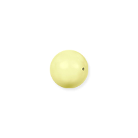 Swarovski 5810 3mm Pastel Yellow Round Crystal Pearl (10-Pcs)