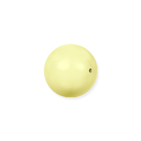 Swarovski 5810 6mm Pastel Yellow Round Crystal Pearl (10-Pcs)