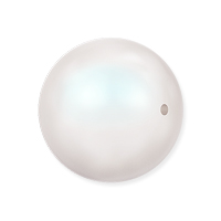 Swarovski 5810 12mm Pearlescent White Round Crystal Pearl (1-Pc)