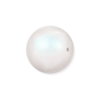 Swarovski 5810 8mm Pearlescent White Round Crystal Pearl (10-Pcs)