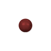 Swarovski 5810 2mm Red Coral Gemcolor Round Crystal Pearl (10-Pcs)