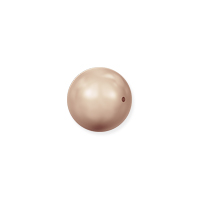 Swarovski 5810 4mm Rose Gold Round Crystal Pearl (10-Pcs)