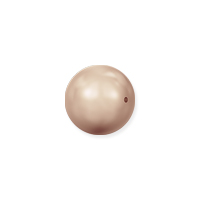 Swarovski 5810 5mm Rose Gold Round Crystal Pearl (10-Pcs)