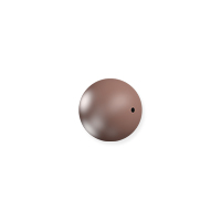 Swarovski 5810 3mm Velvet Brown Round Crystal Pearl (10-Pcs)