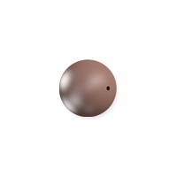 Swarovski 5810 4mm Velvet Brown Round Crystal Pearl (10-Pcs)