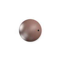 Swarovski 5810 6mm Velvet Brown Round Crystal Pearl (10-Pcs)