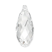 Swarovski Briolette Pendant 6010 13x6.5mm Crystal (1-Pc)