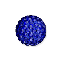Swarovski Crystal Pave Ball Bead 10mm Majestic Blue (1-Pc)