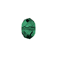 Swarovski 5040 4mm Emerald Briolette Bead (1-Pc)