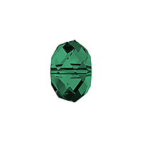 Swarovski Crystal 5040 6mm Emerald Briolette Bead (1-Pc)