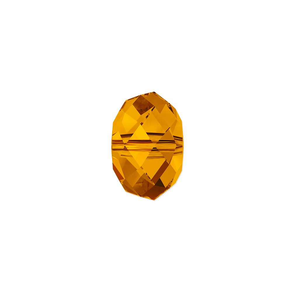 Swarovski Crystal 5040 4mm Tangerine Briolette Bead (1-Pc)