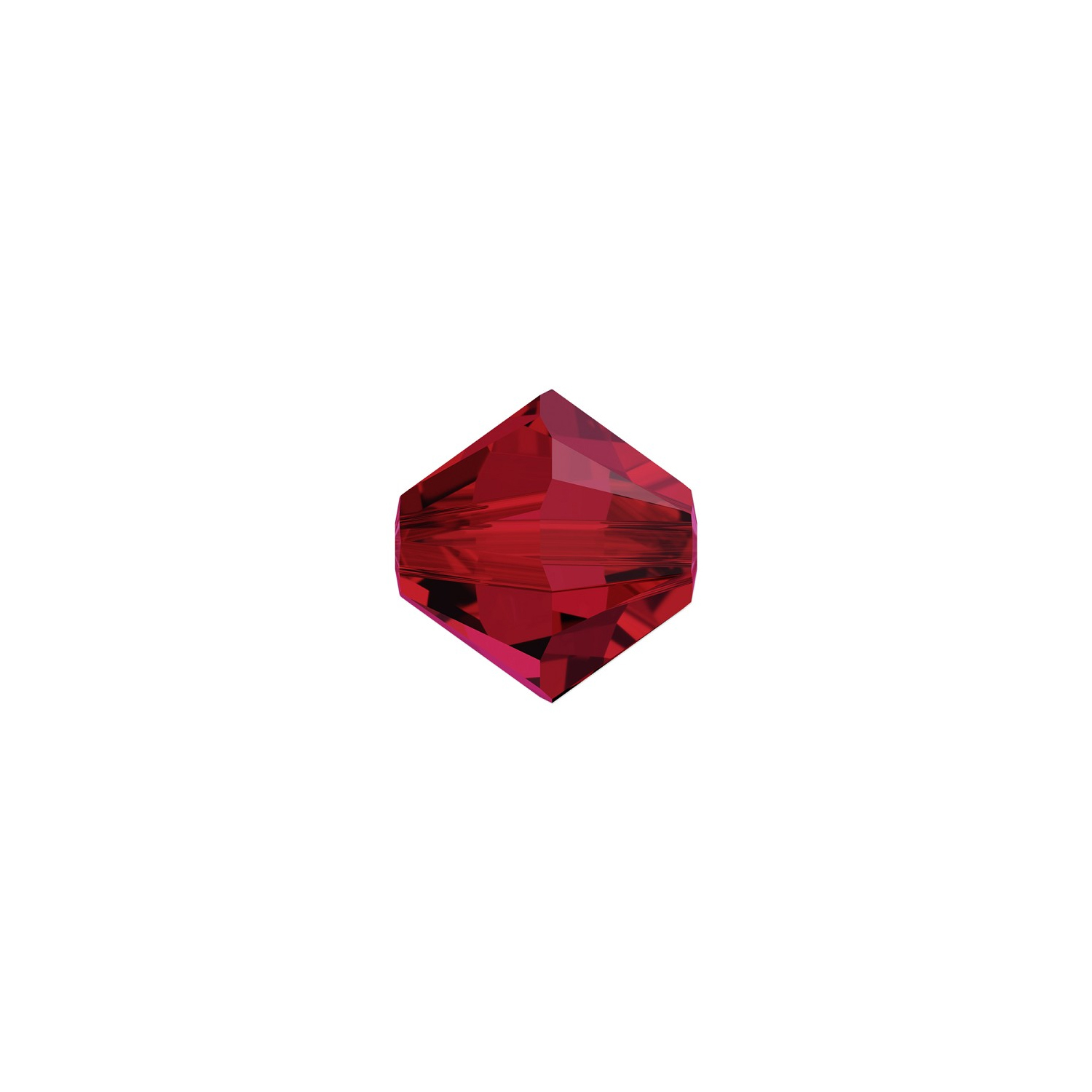 closer at latest trends official store Swarovski Crystal 5301 2.5mm Scarlet Bicone Bead (10-Pcs)