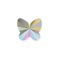 Swarovski Crystal Butterfly Bead 5754 8mm Crystal Paradise Shine (1-Pc)