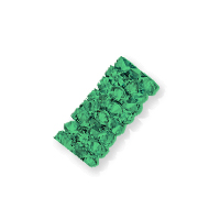 Swarovski Fine Rocks Tube Bead 5951 15x6mm Emerald (1-Pc)
