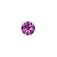 Swarovski 2088 3mm (SS12) Amethyst Flat Back (10-Pcs)