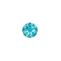 Swarovski 2088 3.5mm (SS14) Aquamarine Flat Back (10-Pcs)