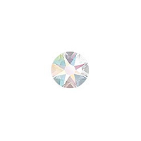 Swarovski 2088 3.5mm (SS14) Crystal AB Flat Back (10-Pcs)