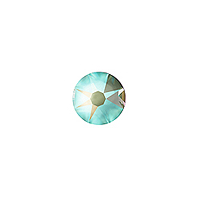 Swarovski 2088 4mm (SS16) Crystal Army Green DeLite Flat Back (10-Pcs)