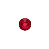 Swarovski 2088 3.5mm (SS14) Scarlet Flat Back (10-Pcs)