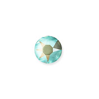 Swarovski 2078 4mm (SS16) Crystal Army Green DeLite Hotfix Flat Back (10-Pcs)