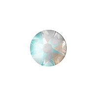 Swarovski 2078 7mm (SS34) Crystal Light Grey DeLite Hotfix Flat Back (5-Pcs)