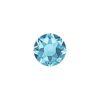 Swarovski 2078 6mm (SS30) Aquamarine Hotfix Flat Back (5-Pcs)