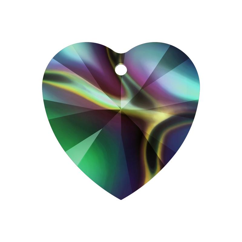 Swarovski crystal heart crystal pendant 6228 10mm crystal rainbow swarovski heart crystal pendant 6228 10mm crystal rainbow dark mozeypictures Gallery