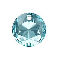Swarovski Classic Cut 6430 Pendant 8mm Aquamarine (1-Pc)