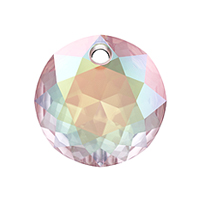 Swarovski Classic Cut 6430 Pendant 10mm Crystal AB (1-Pc)
