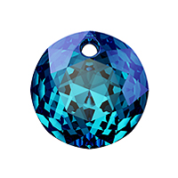 Swarovski Classic Cut 6430 Pendant 10mm Crystal Bermuda Blue (1-Pc)