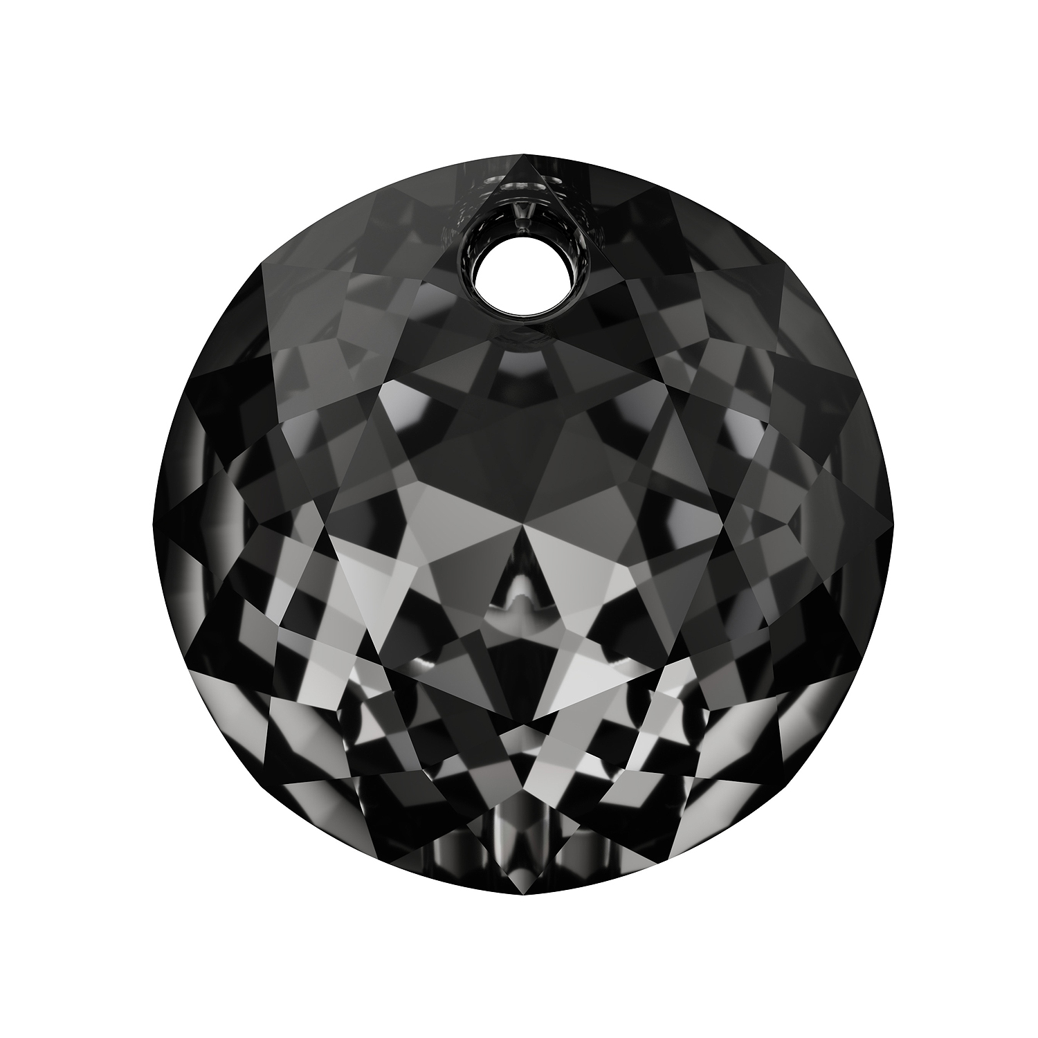 8bc45844f Swarovski Classic Cut Pendant 6430 10mm Crystal Silver Night | swarovski  crystal pendants wholesale for sale