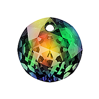 Swarovski Classic Cut 6430 Pendant 10mm Crystal Vitrail Medium (1-Pc)