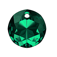 Swarovski Classic Cut 6430 Pendant 10mm Emerald (1-Pc)