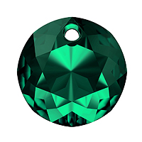 Swarovski Classic Cut 6430 Pendant 14mm Emerald (1-Pc)