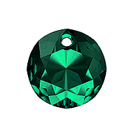 Swarovski Classic Cut 6430 Pendant 8mm Emerald (1-Pc)