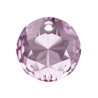 Swarovski Classic Cut 6430 Pendant 10mm Light Amethyst (1-Pc)