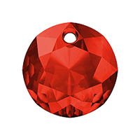 Swarovski Classic Cut 6430 Pendant 10mm Light Siam (1-Pc)