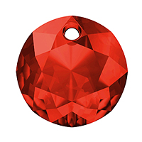 Swarovski Classic Cut 6430 Pendant 14mm Light Siam (1-Pc)