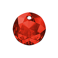 Swarovski Classic Cut 6430 Pendant 8mm Light Siam (1-Pc)