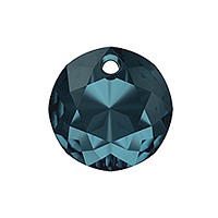 Swarovski Classic Cut 6430 Pendant 8mm Montana Blue (1-Pc)
