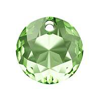 Swarovski Classic Cut 6430 Pendant 10mm Peridot (1-Pc)