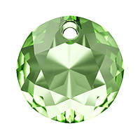 Swarovski Classic Cut 6430 Pendant 14mm Peridot (1-Pc)