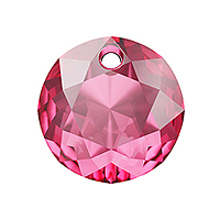 Swarovski Classic Cut 6430 Pendant 10mm Rose (1-Pc)