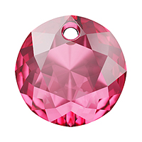 Swarovski Classic Cut 6430 Pendant 14mm Rose (1-Pc)