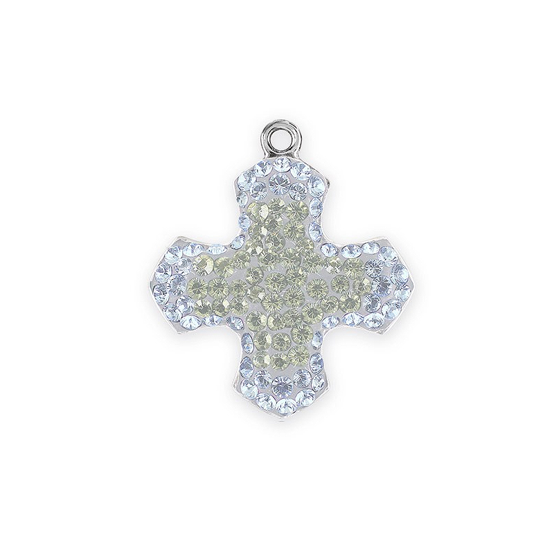 Save 50 on swarovski 14mm white opal pave greek cross pendants swarovski pav greek cross pendant 67432 14mm white opalcrystal moonlight rhodium plated 1 mozeypictures Choice Image