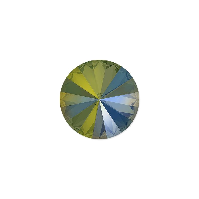 82dce9544 Swarovski Crystal 1122 14mm Crystal Iridescent Green Rivoli Chaton |  swarovski a rivoli | We got that!
