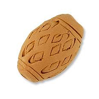 Terra Cotta Bead 17x26mm Oval (1-Pc)