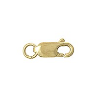 Lobster Claw Clasp - 7x3mm 14k Yellow Gold (1-Pc)
