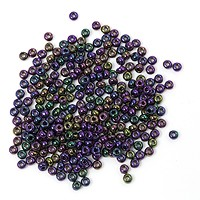Czech Seed Beads - 8/0 Purple Iris (10 Grams)